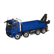 "NZG art.920/20 MERCEDES BENZ ACTROS 8x4 Pick-up Grue ""Bleu"" 1:50"