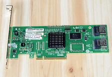 LSI SAS 3081E-R 3Gb/s 8 Port SATA/SAS 1068E Host Adapter Controller raid Card