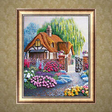 Courtyard Full Drill DIY 5D Diamond Painting Embroidery Cross Stitch Art Kit AU