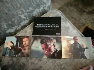 Terminator 3 Rise Of The Machines Limited Edition Collectable Cards Part 1