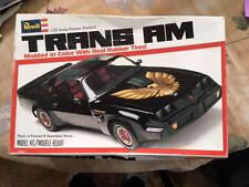 Revell 1/25 Scale Pontiac Firebird Trans Am model
