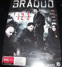 Braquo Season Series 1 2 & 3 One Two & Three (Australia Region 4) DVD – New