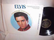 ELVIS PRESLEY-LEGENDARY PERFORMER VOLUME 3 CPL1-3082  DIE CUT VG+/VG LP