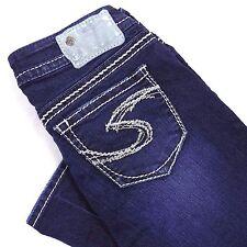Silver Jeans 28 Women's Suki Super Skinny Size 28/31