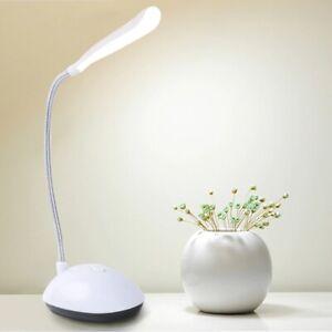 Lamp Table Desk Light LED Bright Battery Modern Reading Bedroom Office Night