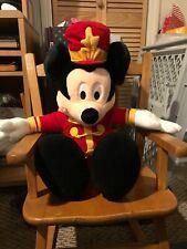 macys christmas Mickey Mouse Stuffed Doll