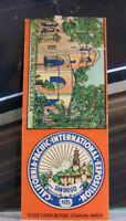 Rare Vintage Matchbook M2 California San Diego 1935 Pacific Intl Exposition