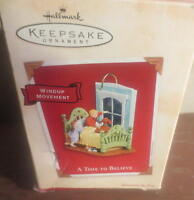 Hallmark Keepsake Ornament A time to Believe Windup Movement