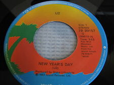 "U2 7"" New Years Day / Treasure, Rare Canadian Commercial Issue. Very Nice"