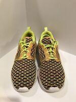 Nike Roshe One Flyknit Volt Women's Running Shoes Multicolor 704927-702 Size 6.5