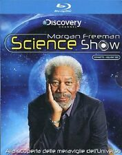MORGAN FREEMAN SCIENCE SHOW  4BLU-RAY  -  COFANETTO