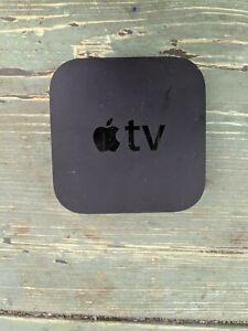 Apple TV 3rd Generation Black  Media Streamer - Model A1469 - NO REMOTE