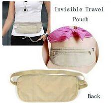 Travel Pouch Hidden Wallet Security Waist Passport Money Card Ticket Belt Bag