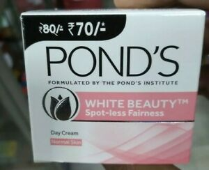 Ponds White Beauty Spot-less fairness Day cream For Normal skin23g Shipping free