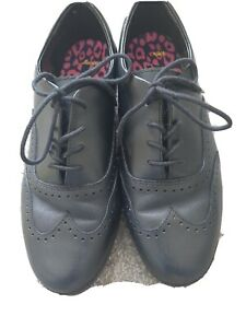 Clarks Girls School Shoes Size 7H