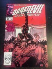 "Daredevil#252 Incredible Condition 9.0(1988)""Fall Of The Mutants""Romita.jr Art!!"