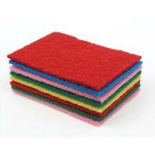 10PCS Home Kitchen Bar Scouring Pads Cleaning Tool Dish Towel Sponge Dishcloth