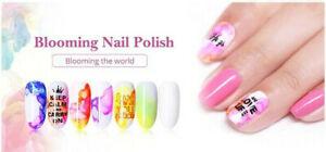 Blooming Nail Polish 10ml UK STOCK - BORN PRETTY - SAME DAY DESPATCH
