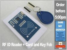 MFRC-522 RC522 RFID Proximity Reader / writer for Arduino Includes fob and card