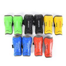 Kids Child Soft Football Shin Pads Soccer Guard Sport Leg Skin Guards Protect Fn