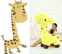 Large Big Soft Cute Giraffe Plush Stuffed Animal Doll Toy For Kids Birthday Gift