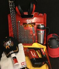 Hilti Te 5 Great Condition, Free Mug, Bits, Lot Of Extras, Fast Ship