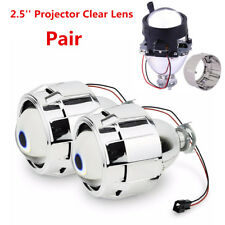 "2xLHD 2.5"" Mini HID Bi-Xenon Hi/Lo Beam Headlight Retrofit Projector Lens Shroud"