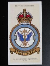 No.42 (BOMBER) 104 SQUADRON - R.A.F. BADGES with MOTTO - Players 1937