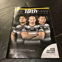 HULL FC RUGBY VS HUDDERSFIELD 2018 EXCLUSIVE MONTHLY PROGRAMME FEB EDT 01