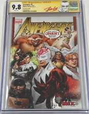 Marvel Avengers #4 Fan Expo Canada Exclusive Signed by Stan Lee CGC 9.8 SS