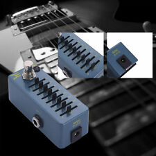 EX-EQ7 Adjustable Electric Guitar Effect Processor Tuner Pedal Volume Stompbox