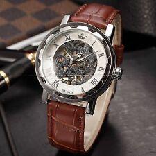 Mechanical (Hand-winding) Analog Casual Wristwatches