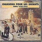 Chansons pour les Enfants Paris 1928-1943, Various, vg Box set