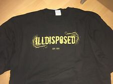 ILLDISPOSED - Burn Me Wicked LOGO T-Shirt L, XL, XXL NEU