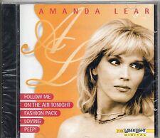 AMANDA LEAR CD 1997 omonimo SIGILLATO 16 TRACCE stampa TEDESCA Laserlight