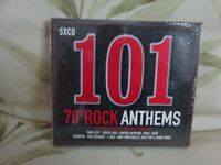 101 - 70S Rock Anthems -CD - Various Artists - New - Free uk Postage