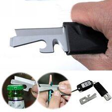 5in1 Stainless Mini Multi-Purpose EDC Pocket Survival Tool Screwdriver Keyring
