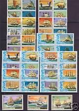 Penrhyn 1981 Ships Definitives 43 values SG 166/208 MNH