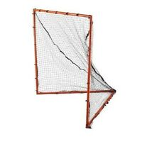 New 4' x 4' box lacrosse steel metal goal & mesh indoor outdoor backyard lax net