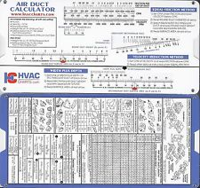 Air Duct Sizing Calculator HVAC Heating