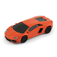 Lamborghini Aventador Sports Car USB Memory Stick Flash Pen Drive 8Gb - Orange
