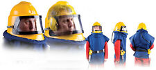 SCORPION SHOTBLAST BLAST HELMET / SAND BLASTING ABRASIVE similar to apollo