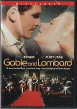 Gable and Lombard (DVD) James Brolin, Jill Clayburgh NEW
