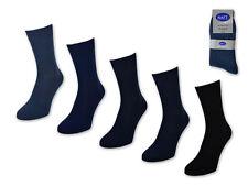 30 Calcetines de Hombre Par 100% Algodón sin Acercarse a Negocios Azul Vaqueros