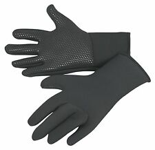 kids wetsuit gloves, titanium 3mm neo, grippy palms, warm, stretchy ages 5 to 16