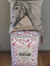 LADY ANTEBELLUM Heartland DELTA Country 3PC TWIN Comforter Sham HORSE PILLOW
