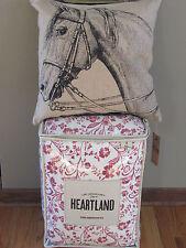 LADY ANTEBELLUM Heartland DELTA Country 3PC TWIN Comforter Sham HORSE PILLOW