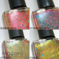 Ms. Sparkle - Tales of 1001 Nights Collection - Flakies Duochrome Nail Polish