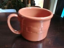 Longaberger Pottery Woven Tradition Spice Souper Mug Cup Nib