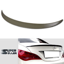 UNpainted BENZ CLA-CLASS 4DR C117 W117 A-TYPE REAR  TRUNK BOOT WING SPOILER 2018